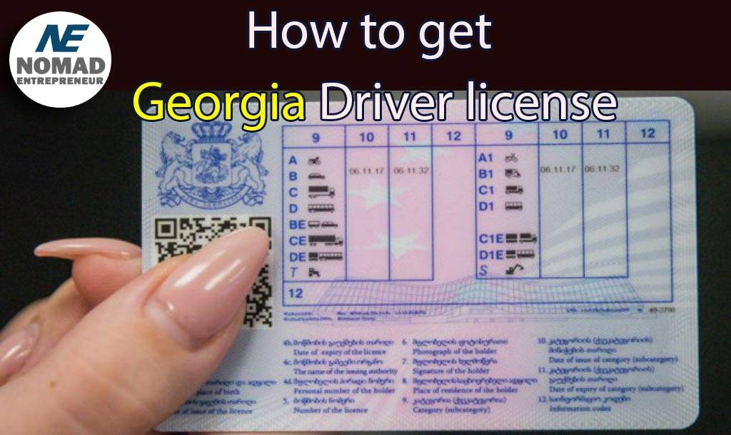 Georgian driving license