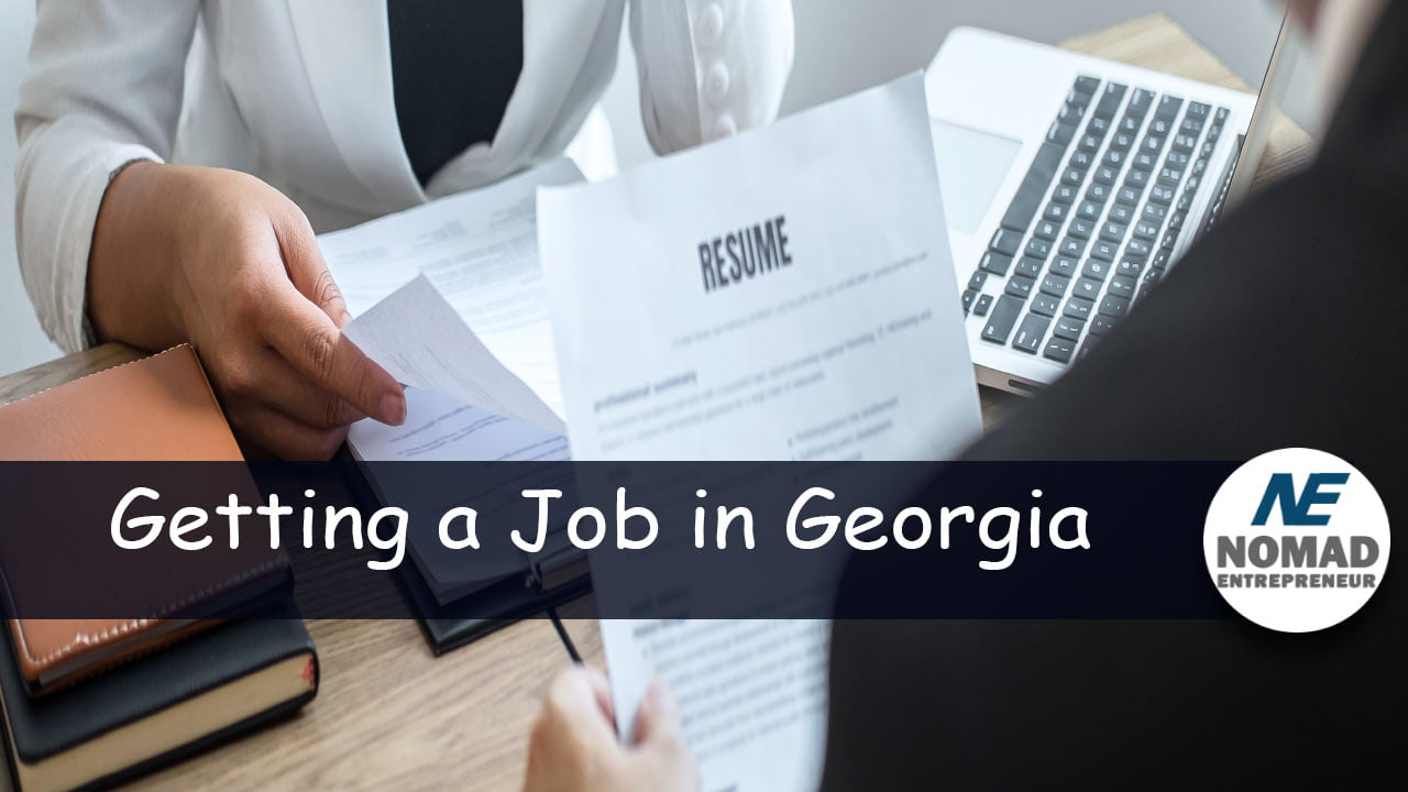 How to get a job in Georgia